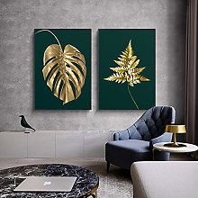 zxianc Print On Canvas Gold Luxury Painting