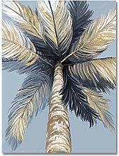 zxianc Print On Canvas Tropical Landscape Wall Art