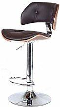 ZXJ Bar stool Bar stool Bar Chair Retro Solid Wood