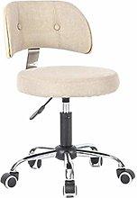 ZXJ Bar stool Bar Swivel Lifting Wooden Backrests