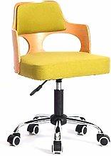 ZXJ Bar stool Bar Swivel Lifting Wooden Chairs