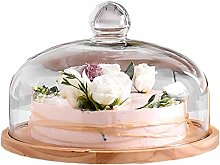 ZXL 8/9.5/11 Inch Cake Dome, Chip & Dip Server