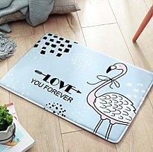 ZXL Bathroom Accessories Cartoon Carpet Floor Mat