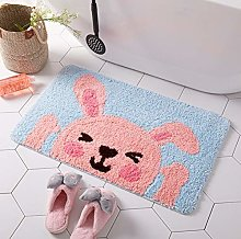 ZXL Bathroom Accessories Cute Pink Carpet Girl