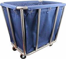 ZXL Blue Commercial Laundry Cart, Hotel/Laundry