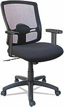 ZXL Mesh Mid-Back Petite Swivel/Tilt Chair, Desk