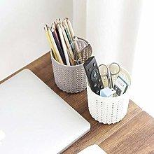 ZXL Pen holder Holder Desk Storage Hollow Pen
