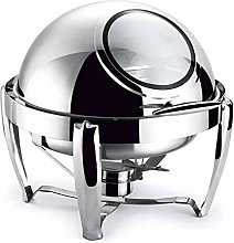 ZXLYA Stainless Steel Chafing Dish, 6.8L Stainless