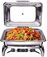 ZXLYA Stainless Steel Chafing Dish, Chafing Dish