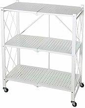 ZXM Adjustable Shelf Multilayer Folding Storage