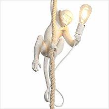 ZXM Creative LOFT Industrial Monkey Chandelier LED