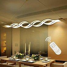 ZXM LED Modern Dining Table Pendant Lamp 4 Long