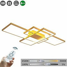 ZXM LED rectangle ceiling lamp modern dimmable