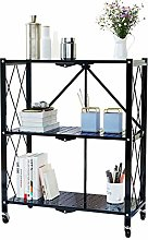ZXM Multilayer Shelf Foldable Heavy Storage Rack