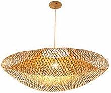 ZXM Pendant Lights Bamboo Chandelier Rattan