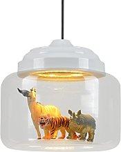 ZXS668 LED Chandelier/Ceiling Light Glass