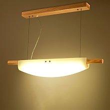 ZXS668 LED Chandelier/Ceiling Light Wooden Pendant