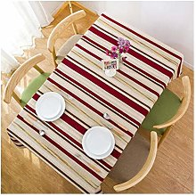 ZXWDIAN Modern Nordic Style Tablecloth Non-Slip