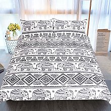 ZXXFR Duvet Cover Set Printed Bohemian baby