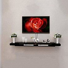 ZY-XSP Black Tv Cabinet Set Top Box Shelf Living