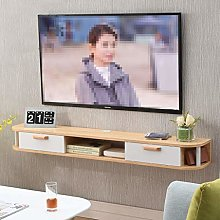 ZY-XSP Floating Shelves Wall-Mounted Tv Cabinet