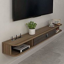 ZY-XSP Floating Shelves Wall-Mounted Tv Cabinet Tv