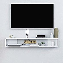 ZY-XSP Floating Tv Shelf Cabinet,Wooden Wall