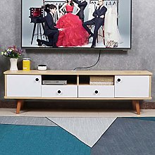 ZY-XSP Solid Wood TV Cabinet, Floor-Standing