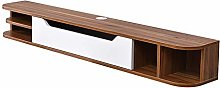 ZY-XSP Solid Wood Wall-Mounted TV Cabinet, Home