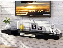 ZY-XSP Tv Shelf Wall Mounted, 2 Tier Media Console