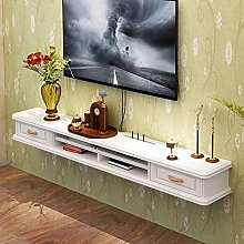 ZY-XSP Wall-Mounted Floating Shelf, Solid Wood TV