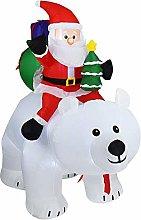 ZYCH Halloween Inflatable 1.7m Tall Christmas