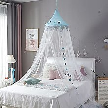 ZYCH Toddler Bed Canopy-Kids Play Reading Tent