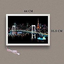 ZYD Photo frame and switch port Shadow Box Display