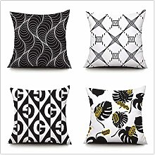 ZYFSKR Sofa Pillow Cases Outdoor Filled Cushions