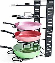 ZYFXZ Adjustable Pot And Pan Rack, 3 DIY Methods