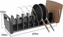 ZYFXZ Heavy Duty Pan Rack Organiser - Kitchen