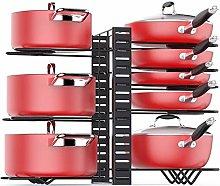 ZYFXZ Metal Adjustable Pot Rack Organizer For