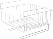 ZYING Closet Cupboard Organizer Kitchen Shelf