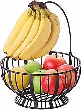 ZYJ Metal Fruit Plate Vintage Basket Storage