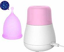 ZYJFP Steam Menstrual Cups Sterilizer,Reusable