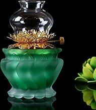 ZYJTGH Buddha Buddhist Supplies Buddha Oil Lamps