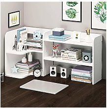 ZYLBDNB Bookshelf unit 2-Shelf Desktop Bookshelf