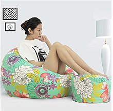 ZYLE Bean Bag Lazy Sofa Single Tatami Cotton and