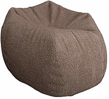 ZYLE Bean Bag Tatami Lazy Sofa Single Fabric Chair