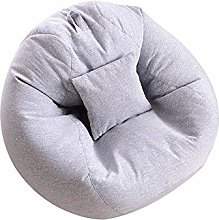 ZYLE Beanbag Tatami Lazy Couch Single Fabric Sofa