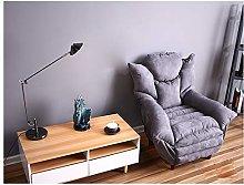 ZYLE Casual Lazy Sofa Single Comfortable Fabric