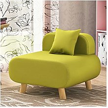 ZYLE Classic Lazy Sofa Single Fabric Sofa Chair