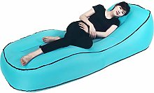 ZYLE Curved Inflatable Sofa Lazy Couch Amphibious