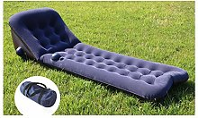 ZYLE Dark Blue Inflatable Bed Air Sofa Portable
